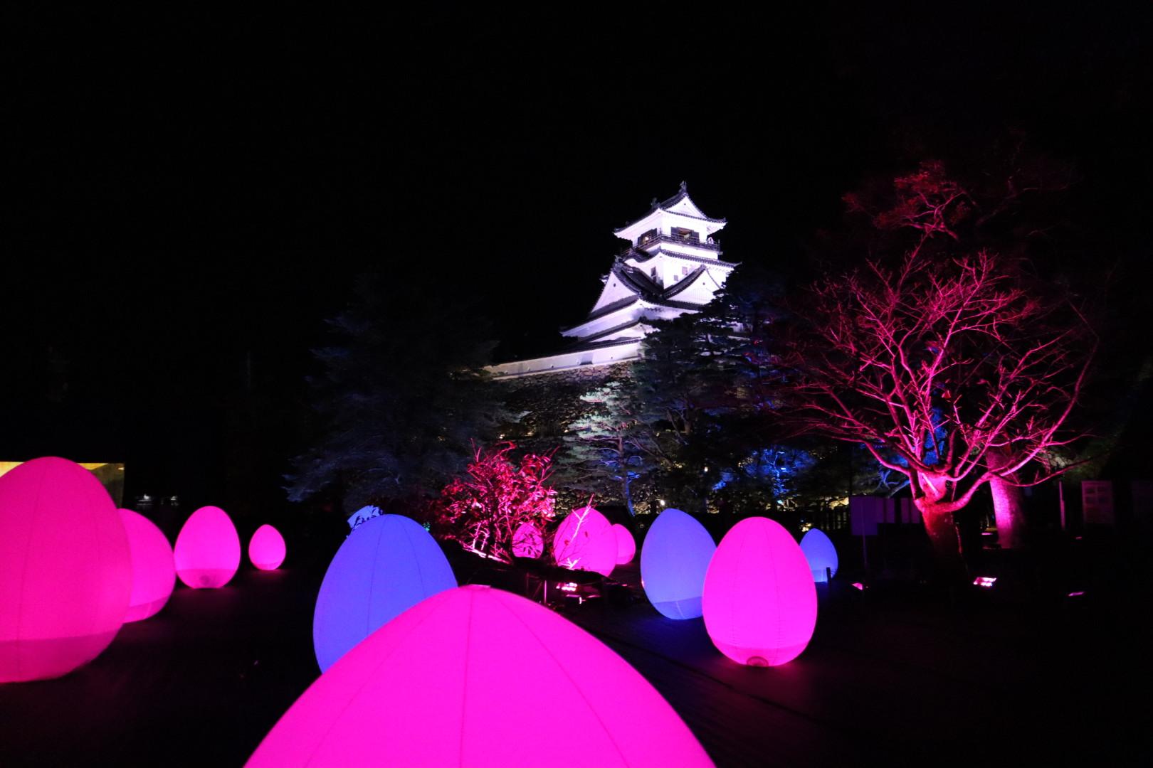 チームラボ高知城光の祭2019