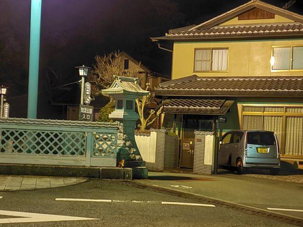 知清公園夜桜
