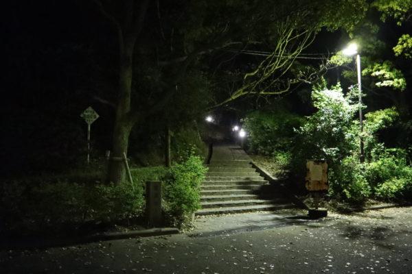 糸山展望台入口