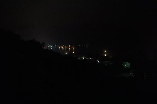 肱川あらし展望公園近く