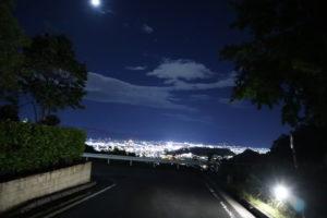 【愛媛】道後平ニュータウンパノラマパーク夜景