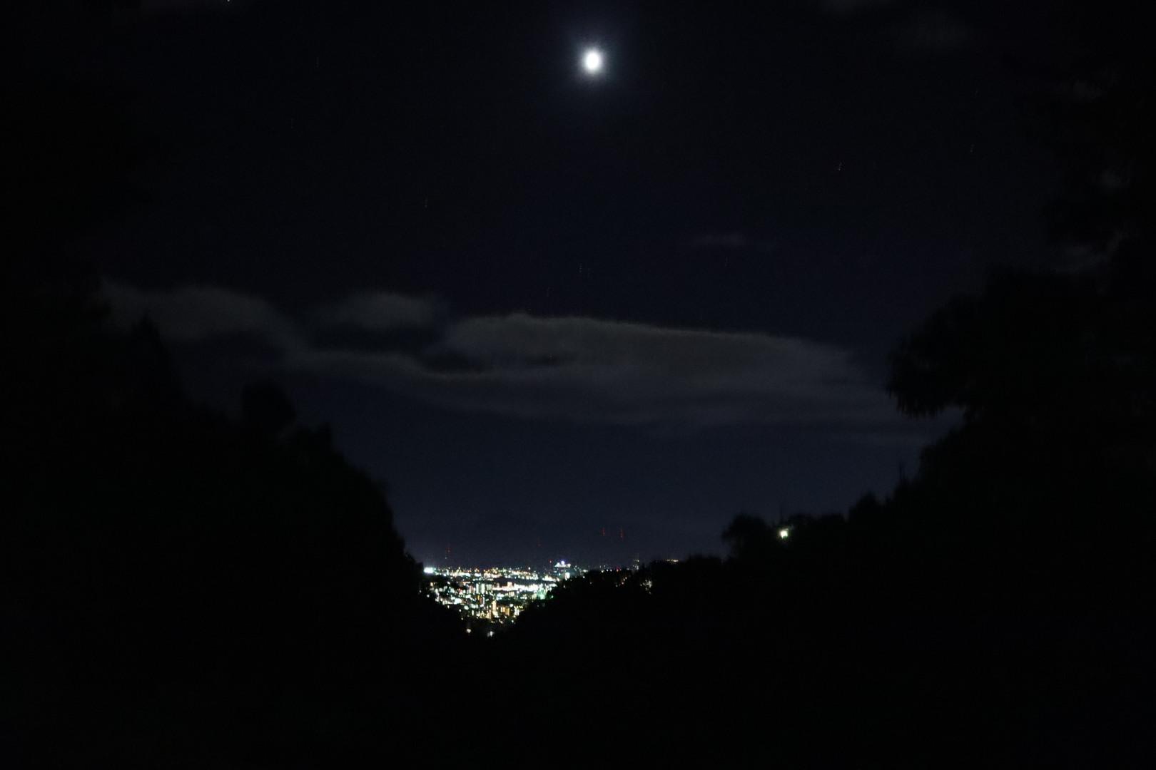 【愛媛】瀬戸風分岐峠夜景