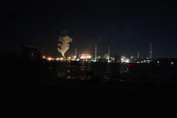 【愛媛】四国中央市 妻島町 工場夜景