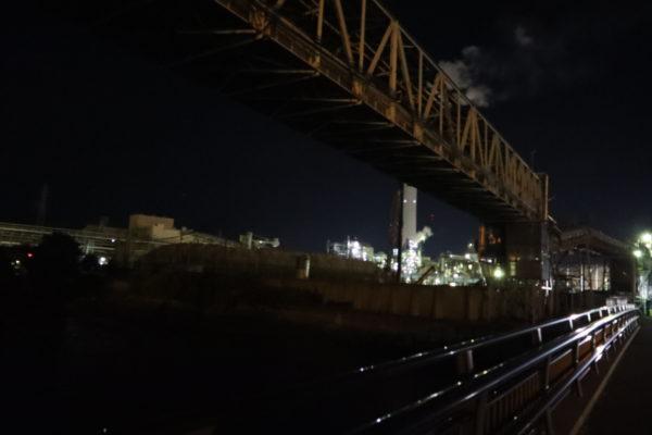 【愛媛】川之江市村松町工場夜景