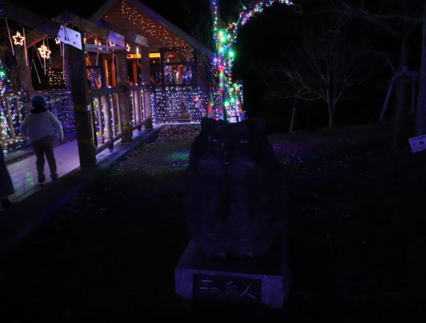 【愛媛】三間中山池自然公園イルミネーション2020