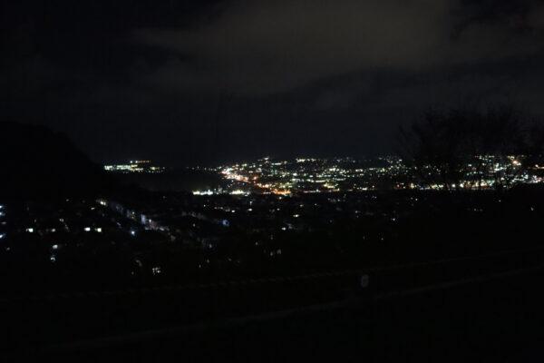 【高知】潮見台からの夜景